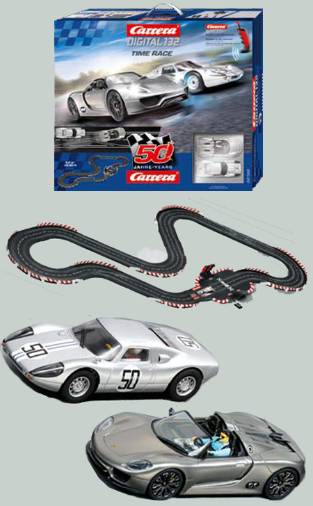 Carrera 30168 Time Race race set, Digital 132