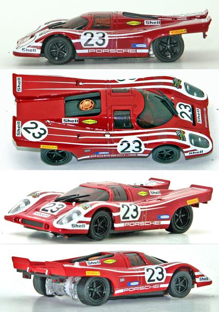 Kyosho 30204 Porsche 917 1970 LeMans winner, 1/43 scale