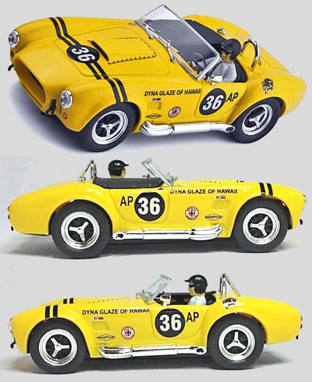 Ninco 50561 Cobra 427, yellow