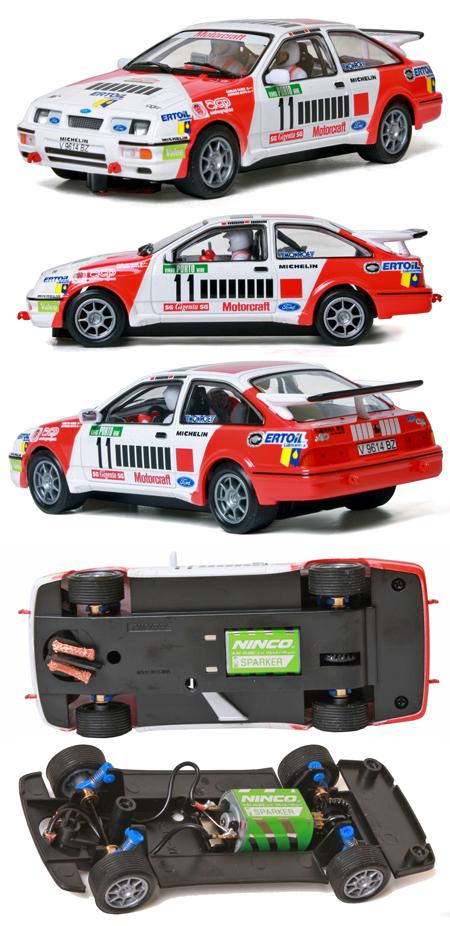 "Ninco 50581 Ford Sierra rally car, Marlboro ""barcode"""