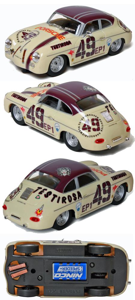 """Ninco 50594 Porsche 356, """"Testirosa"""""""