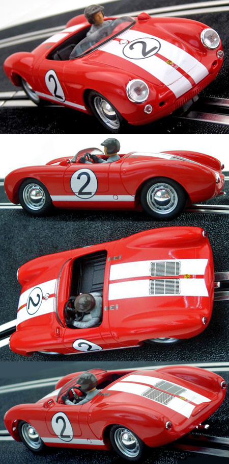 Ninco 50601 Porsche 550 Spyder, red.