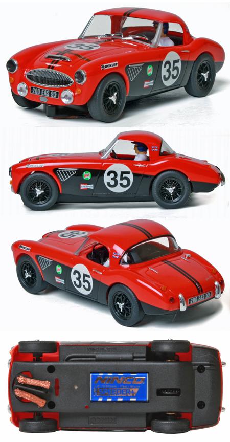 Ninco 50608 Austin Healey red/black #35