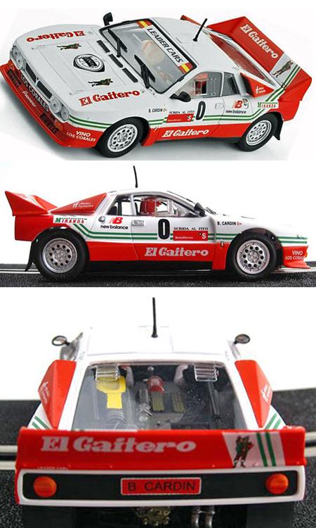 Ninco 50618 Lancia 037 rally car, El Gaitero