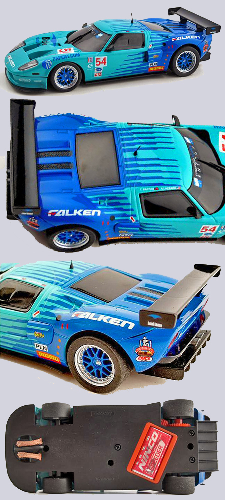 "Ninco 50627 Ford GT ""Falken"", lightened"