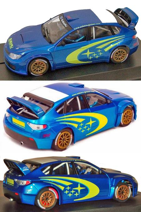Avant Slot 51001 Subaru rally test car