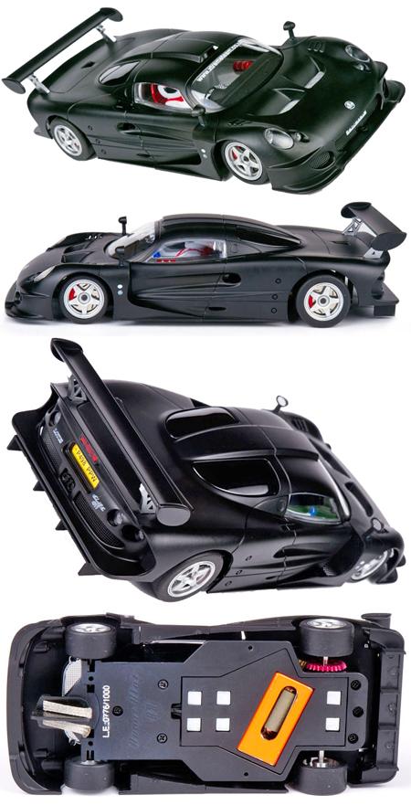 Avant Slot 51601 Lotus Elise GT1 road car, black
