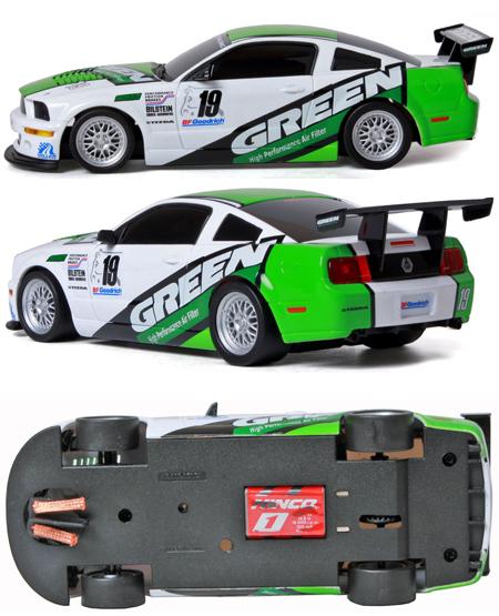 "Ninco 55033 Mustang FR500 ""Green"""