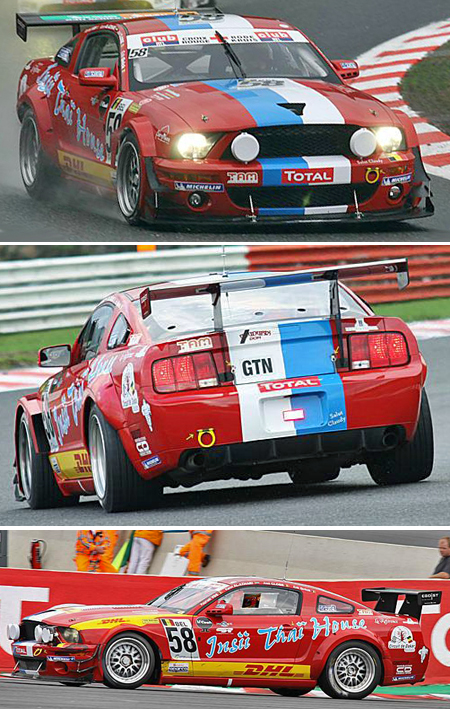 "Ninco 55044 Mustang FR500 ""DHL"""