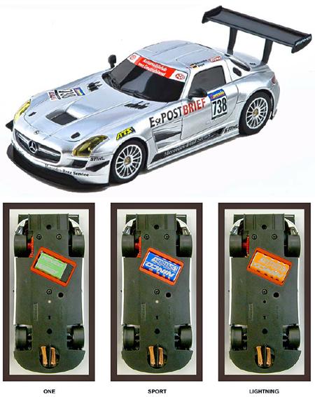 "Ninco 55050 Mercedes SLS GT3 ""Postbrief"""