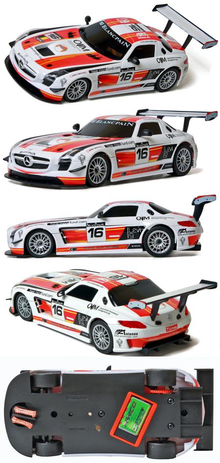 Ninco 55053 Mercedes SLS GT3 Team Holland