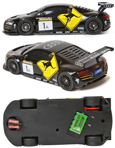 Ninco 55066 Audi R8 black #1, Ninco1-Plus