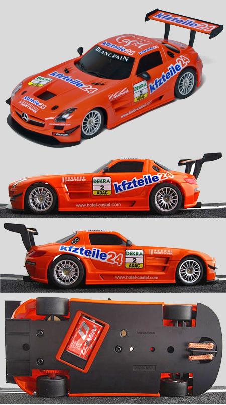 Ninco 55085 Mercedes SLS GT3 Kizteile, Ninco1