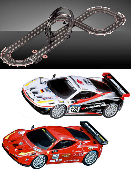 Carrera 62246 GO! Ferrari GT race set 1/43 scale - $83.39