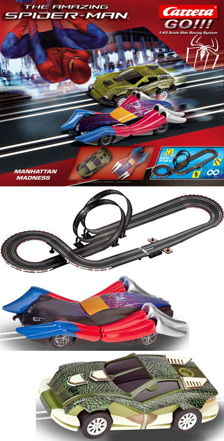 Carrera 62282 Spiderman race set, 1/43