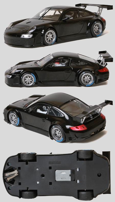 """Fly 704301 Porsche 997, black """"road car"""""""