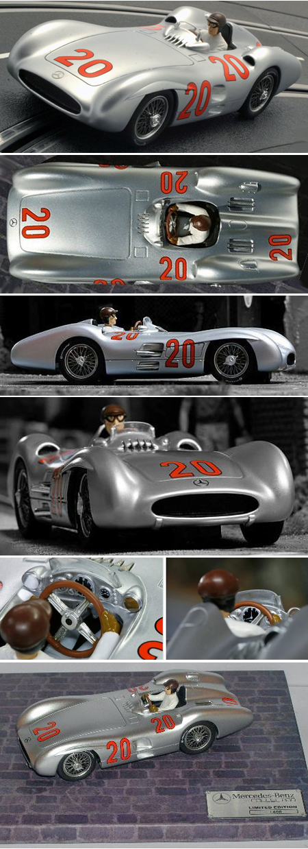 Top Slot 7102 Mercedes-Benz W196 GP car, Reims 1954, #20