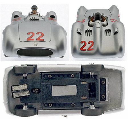 Top Slot 7108 Mercedes-Benz W196 GP Streamliner #22