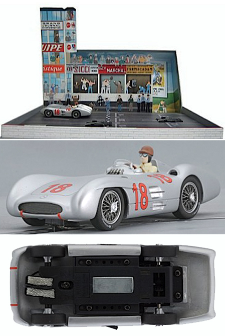 Top Slot 7111 Mercedes-Benz W196 GP Streamliner in special box