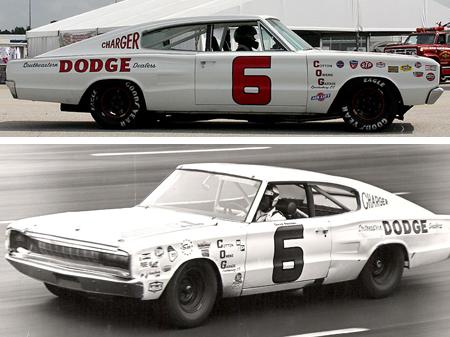 Monogram 85-4842 1966 Dodge Charger, David Pearson