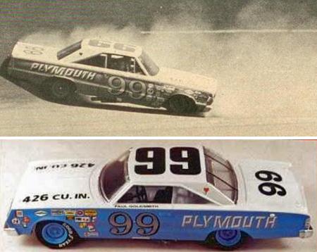 Monogram 85-4843 1967 Plymouth, Paul Goldsmith