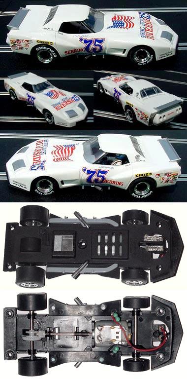 Monogram 85-4857 Greenwood Corvette