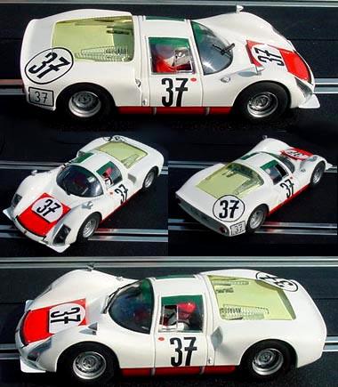 Fly 88277 Porsche 906, Elford/Pon, LeMans 1967