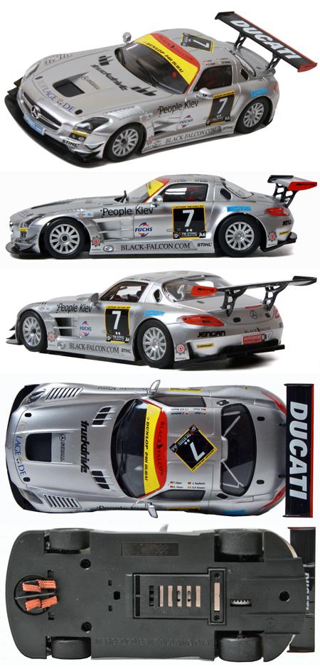 SCX A10030X300 Mercedes SLS GT #7