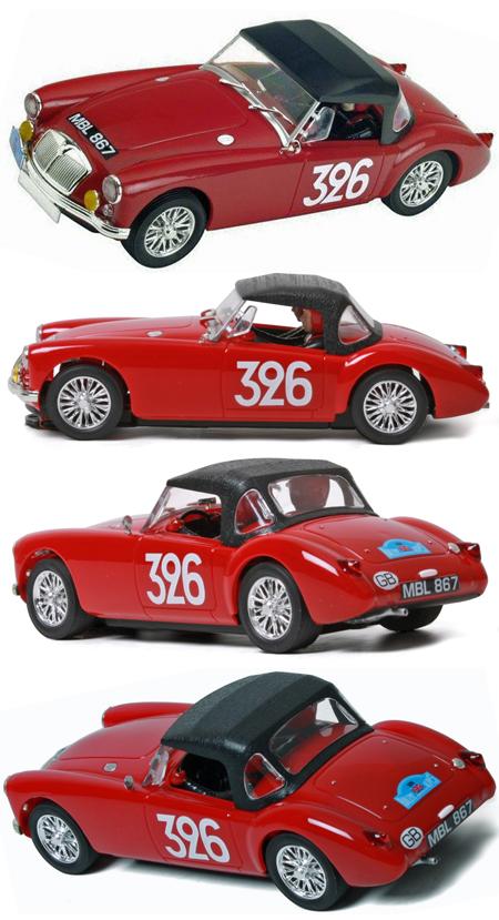 SCX A10039X300 1970 MGA, red