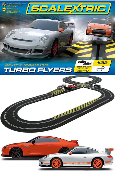 Scalextric C1278T Turbo Flyers race set