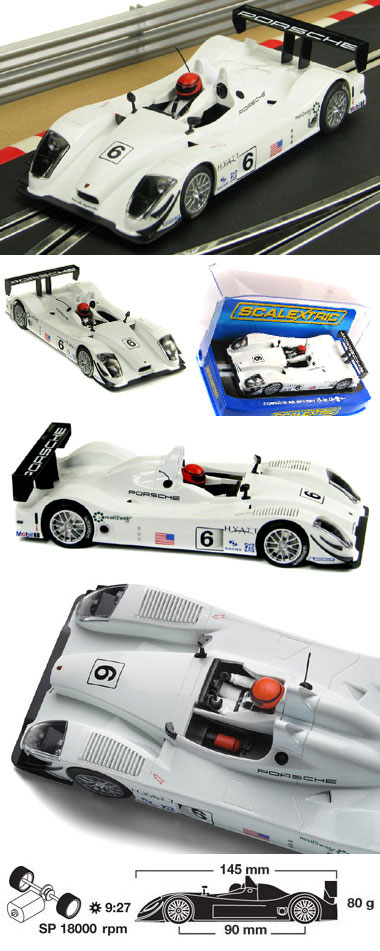 Scalextric C2906 Porsche RS Spyder, Ryan Briscoe