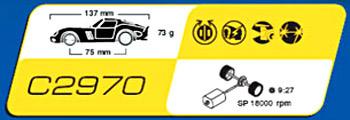 Scalextric C2970 Ferrari 250 GTO