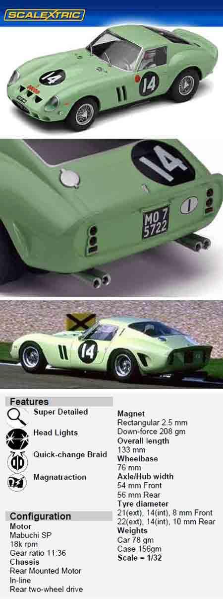 Scalextric C3061 Ferrari 250GTO