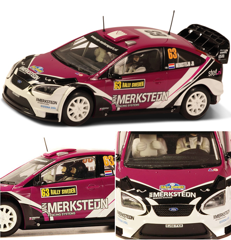 Scalextric C3203 Ford Focus WRC