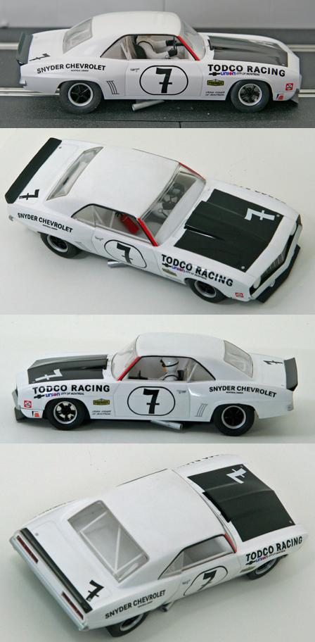Scalextric C3221 1969 Camaro, Todco Racing
