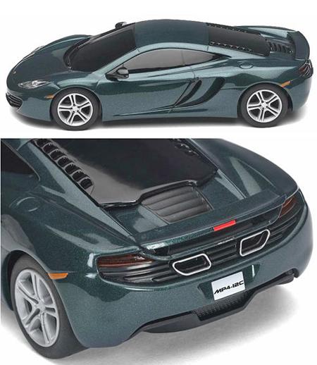Scalextric C3273 McLaren Mp4-12C, green