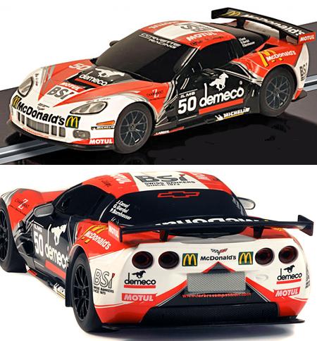 Scalextric C3280 Corvette C6R GT2, McDonald's
