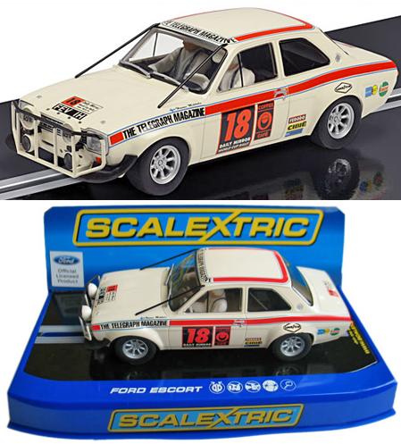 Scalextric C3313 Ford Escort, 1970, H. Mikkola