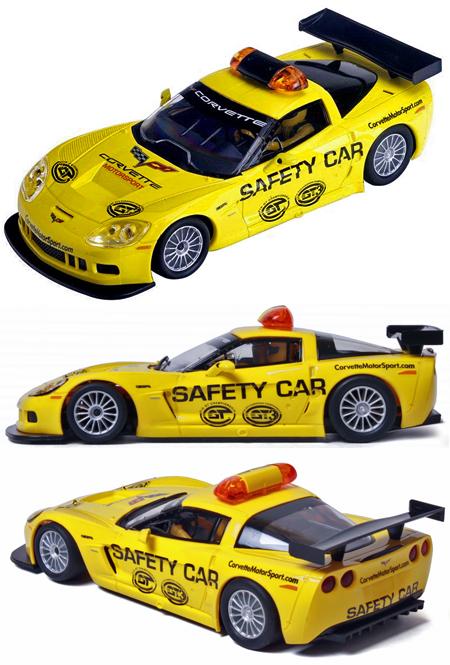 SCX D10051X300 Corvette safety car, digital