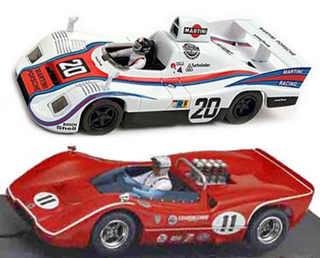 EDSET-02 McLaren M6B & Porsche 936 2-car pack