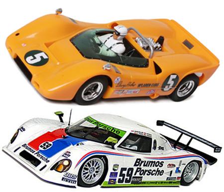 EDSET-07 McLaren M6A & Brumos Riley DP 2-car pack