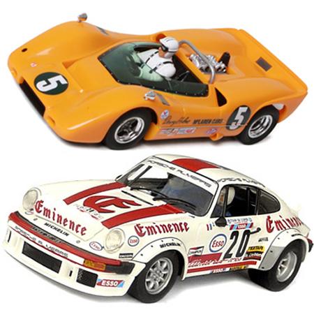EDSET-09 McLaren M6A & Porsche 934 2-car pack