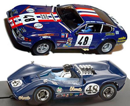 EDSET-14 McLaren M6B & Ferrari 365GTB 2-car pack
