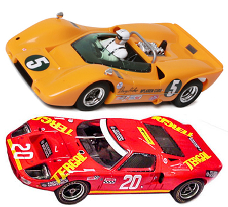 EDSET-19 McLaren M6A & Fly ford GT40 2-car pack