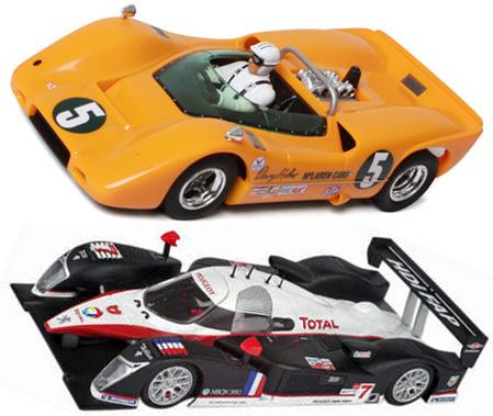 EDSET-26 McLaren M6A & Avant Slot Peugeot 908 2-car pack