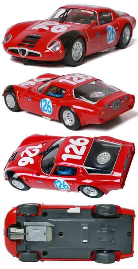 Fly F14101 Alfa Romeo TZ2, Targa Florio 1966