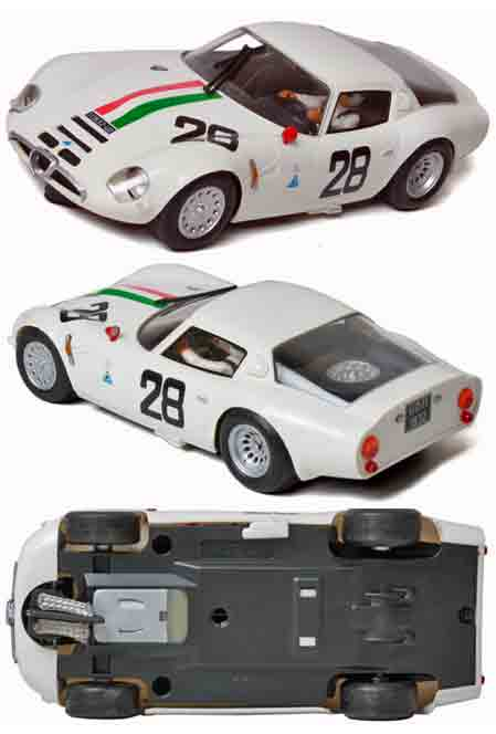 Fly F14102 Alfa Romeo TZ2, Monza 1967