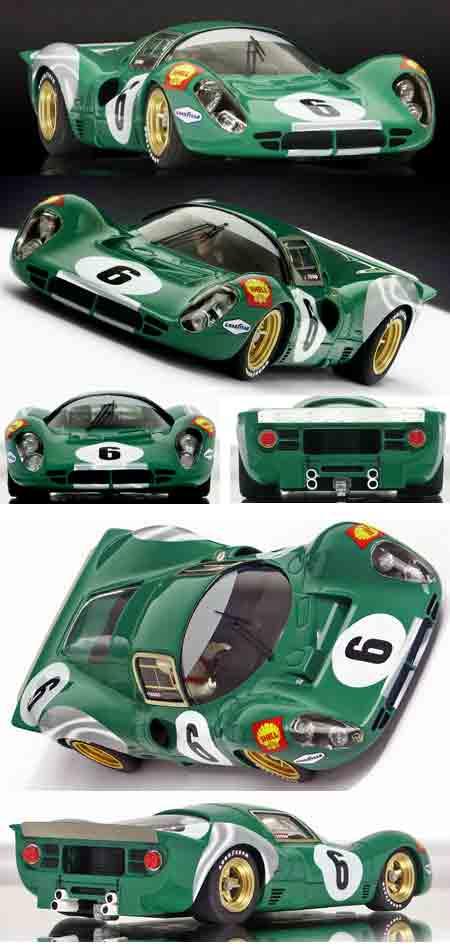 Racer RCR-G4 Ferrari 412P, David Piper.