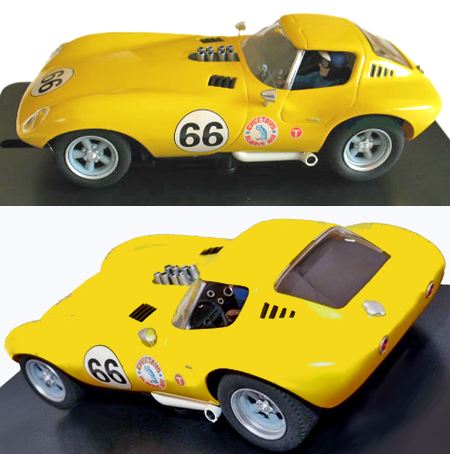 MRRC MC12010 Cheetah, #66 yellow