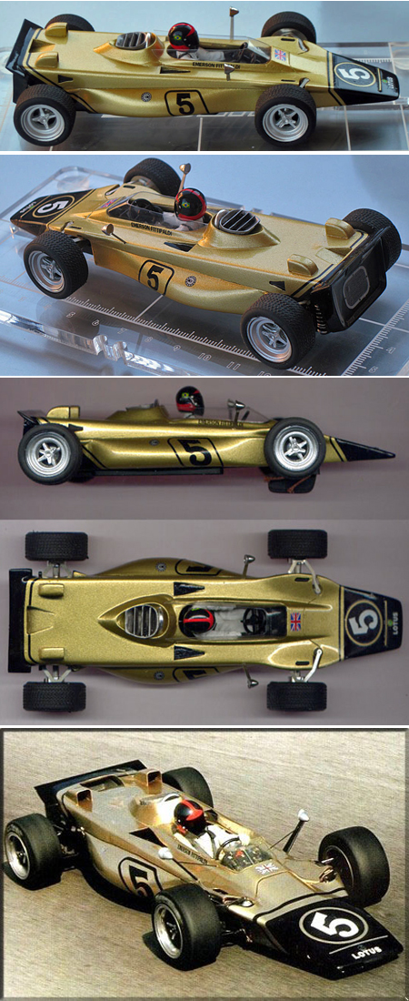 Proto slot MN004/2-RTR Lotus 56 F1 ready-to-run car